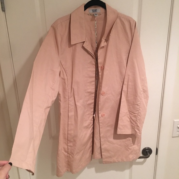 8eace4811984b Old Navy Jackets & Coats | Trench Coat Xl Pale Pink | Poshmark